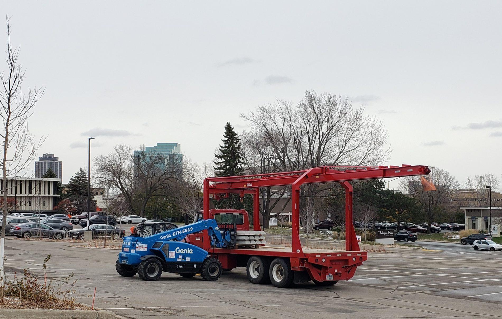Unloading Parking Curbs