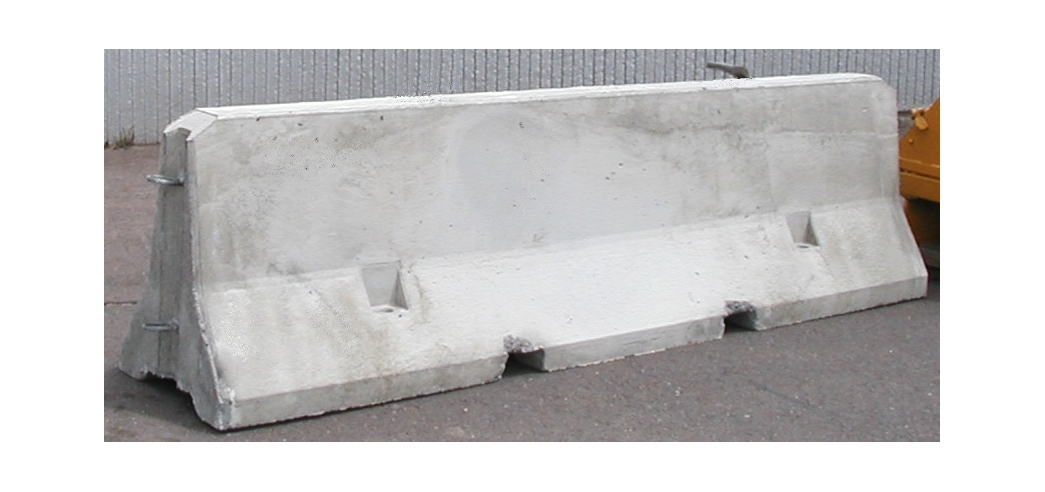 Concrete Safety Barrier