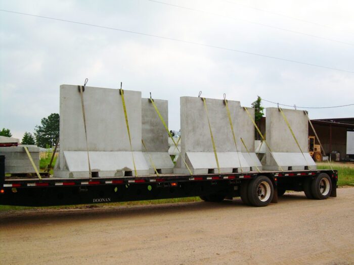 Barriers On Truck