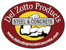 Del Zotto Precast Concrete Logo