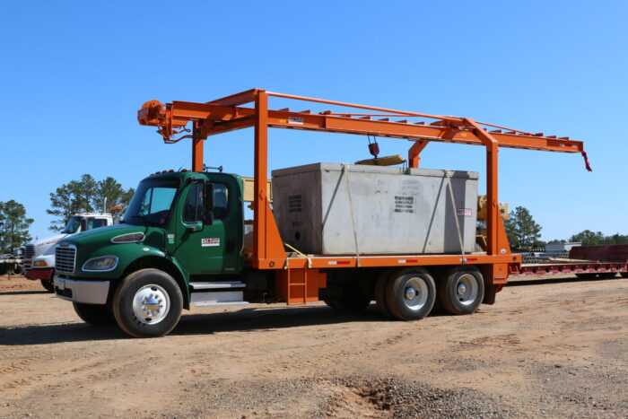 Grease Trap loaded on truck