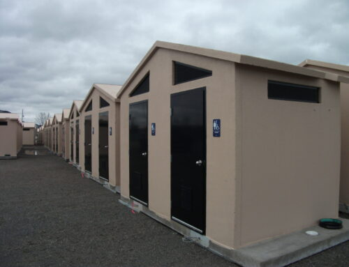 Concrete Restrooms — Safe, sanitary and easy
