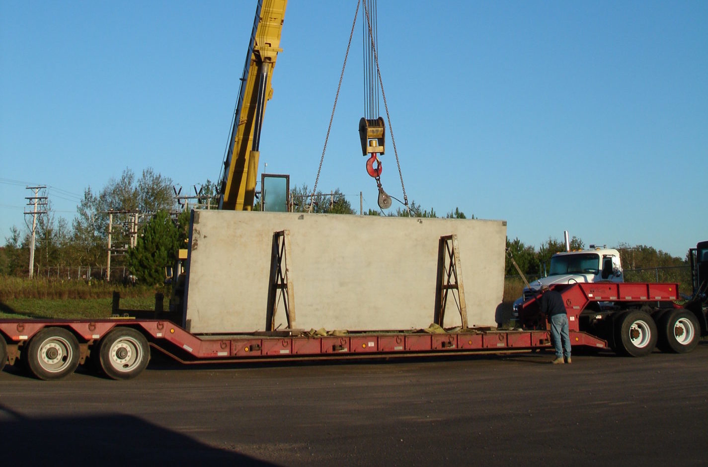 Wall Panel on Truck