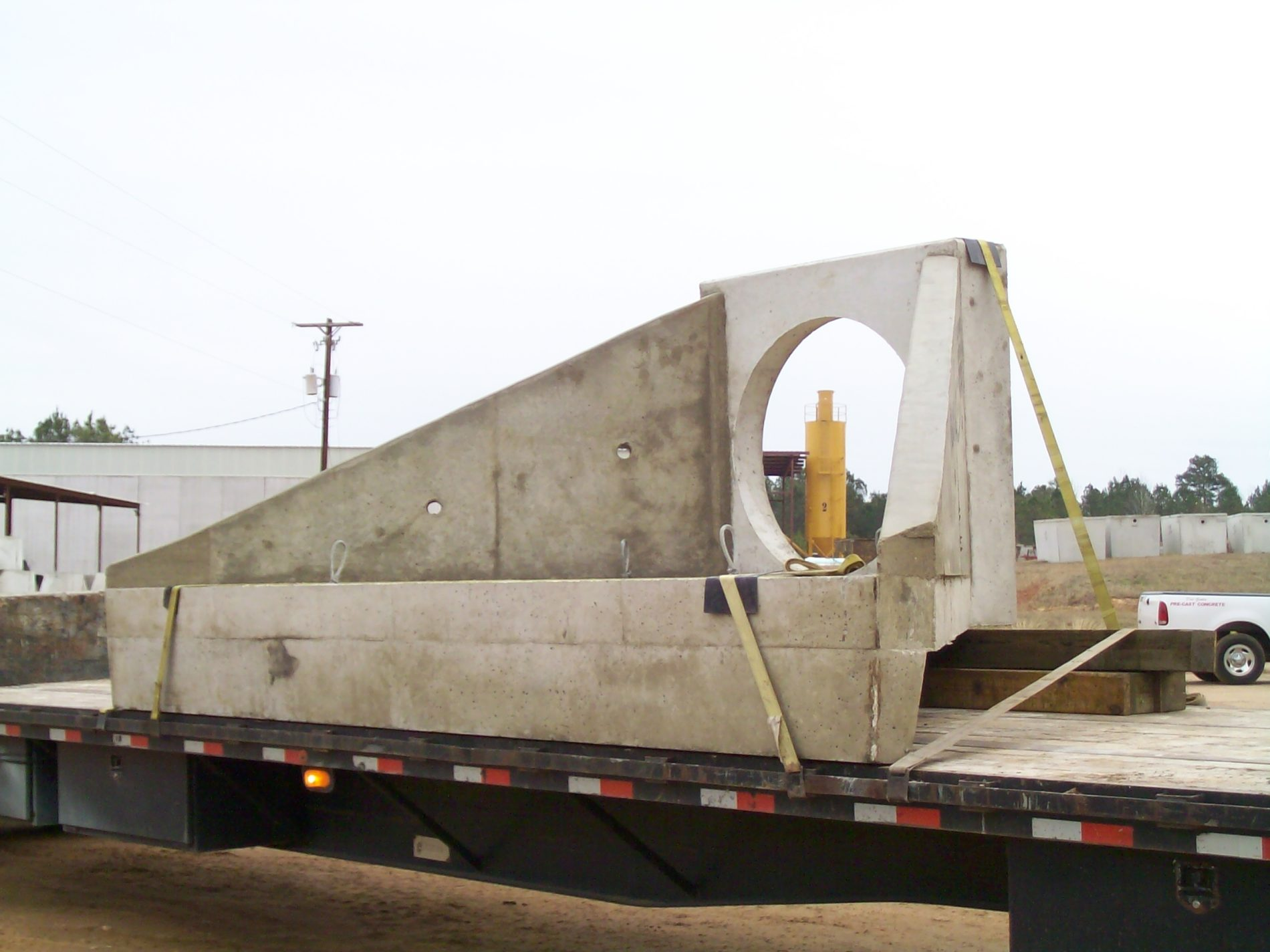 Wing Wall on Truck