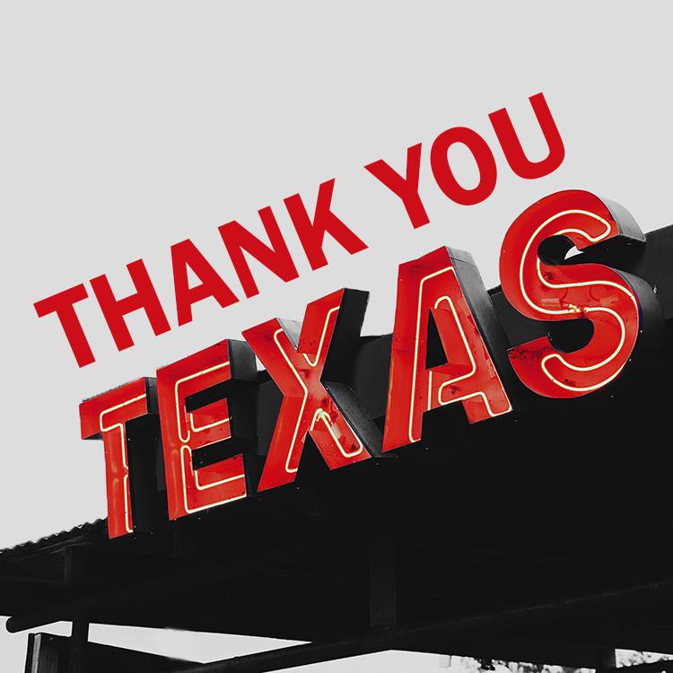Thank You Texas